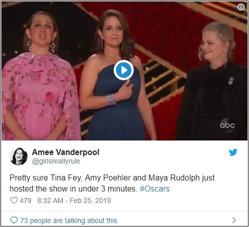 """Thiếu MC dẫn lễ trao giải thì đã sao, """"vắng mợ chợ vẫn đông"""" tại Oscar 2019! - Ảnh 12."""