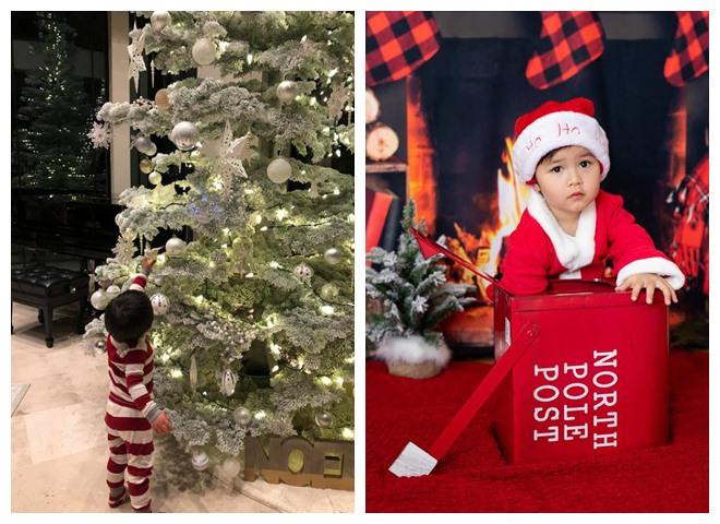 Sao Việt khoe nhà triệu đô được trang trí rực rỡ đón Giáng Sinh - 11