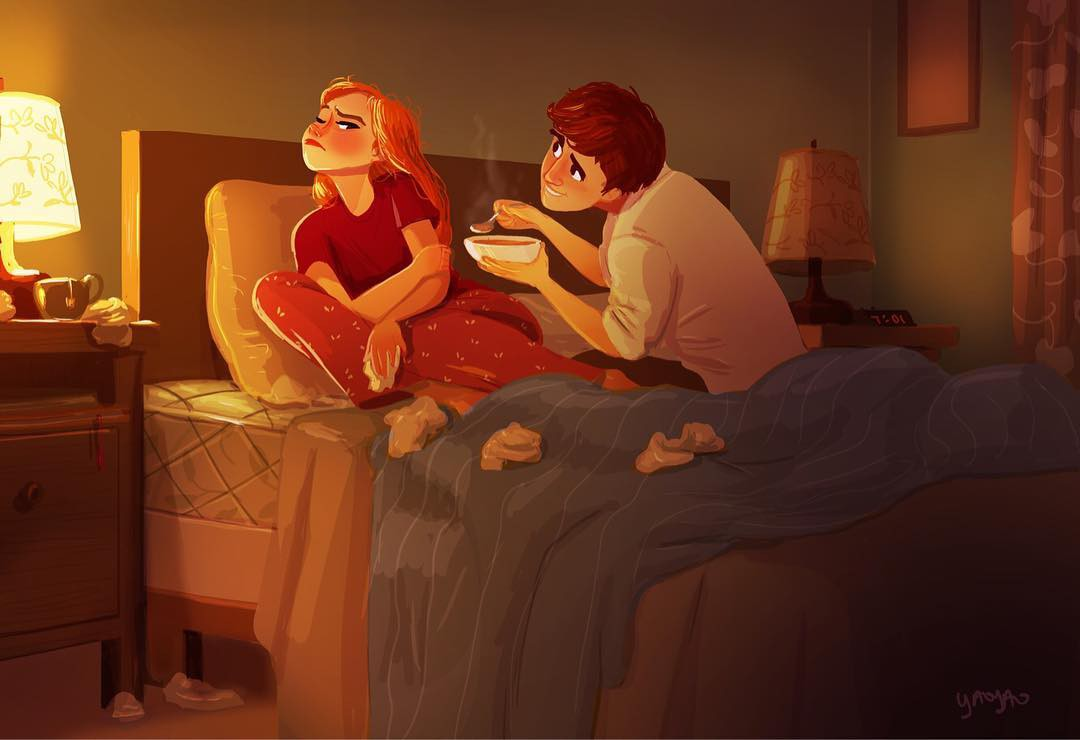 Bộ tranh Tình yêu có màu gì sẽ khiến bạn bất giác mỉm cười vì quá ngọt ngào - Ảnh 11.
