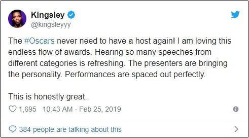"""Thiếu MC dẫn lễ trao giải thì đã sao, """"vắng mợ chợ vẫn đông"""" tại Oscar 2019! - Ảnh 4."""