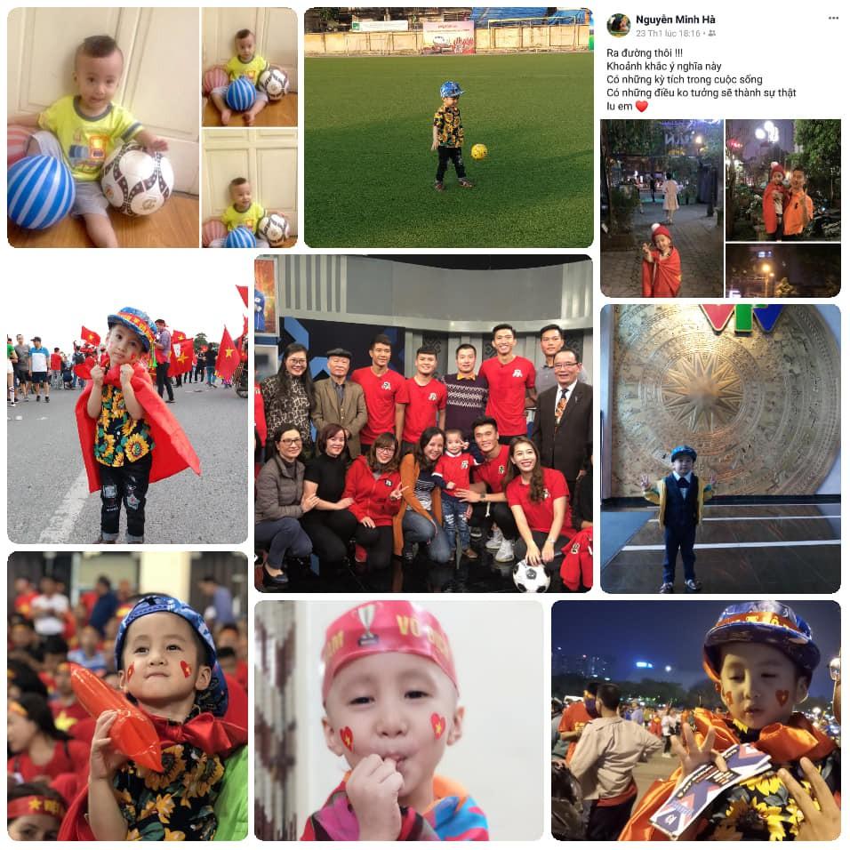 Quang Hải, Đức Chinh bật khóc trong cuộc gặp gỡ xúc động với cậu bé 4 tuổi bị ung thư não trước trận chung kết AFF Cup 2018 - Ảnh 5.