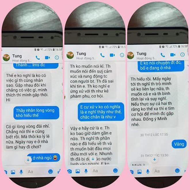 """Nghi án thầy giáo trường chuyên nhắn tin """"gạ tình"""" nữ sinh lớp 10, Sở GD&ĐT Thái Bình yêu cầu làm rõ vụ việc - Ảnh 1."""