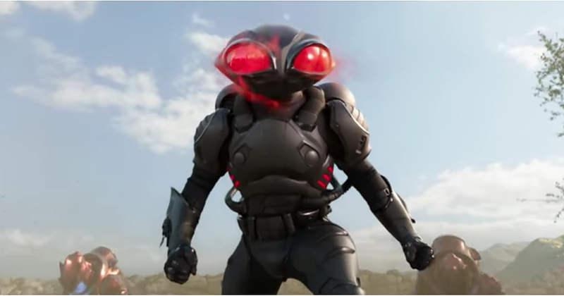 Black Manta dù là phản diện phụ, nhưng vẫn nổi bật hơn Vua Orm. (IMDb)