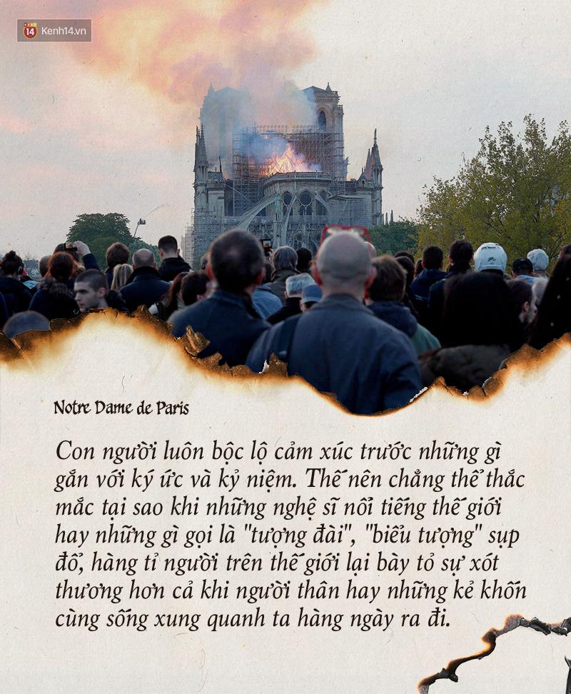 Notre Dame hay câu chuyện về quan điểm cá nhân và quyền phán xét - Ảnh 6.