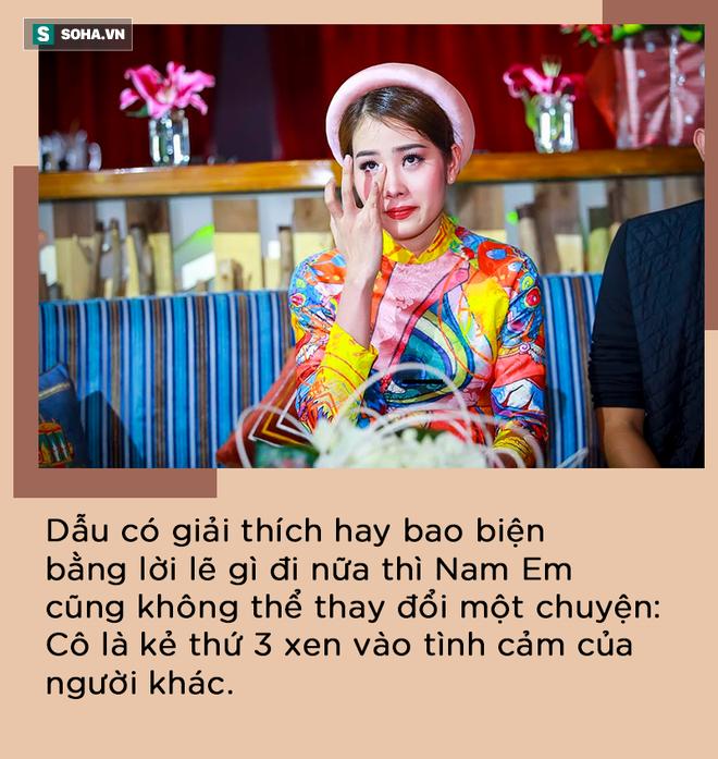 Nam Em phá hoại Trường Giang, Nhã Phương và cái kết đầy tổn thương - Ảnh 1.
