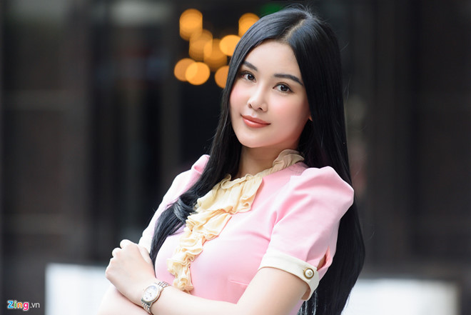 Cuc tu choi cap phep cho Hoa hau Dai duong Ngan Anh di thi quoc te? hinh anh 1