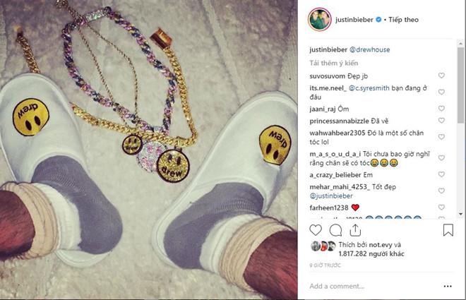 """Người người ồ ạt """"tấn công"""" bài đăng của Justin Bieber trên trang Instagram."""