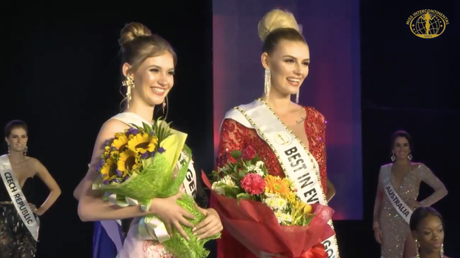 Đi loạng choạng, biểu cảm khó hiểu, Ngân Anh tiếp tục trắng tay tại Miss Intercontinental 2018 - Ảnh 5.