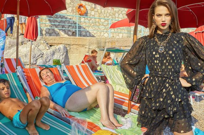 """Dolce & Gabbana tiếp tục """"ăn gạch"""" vì bộ ảnh mới bị cho là phân biệt giàu nghèo, body shaming và để lọt cả đồ Louis Vuitton - Ảnh 2."""