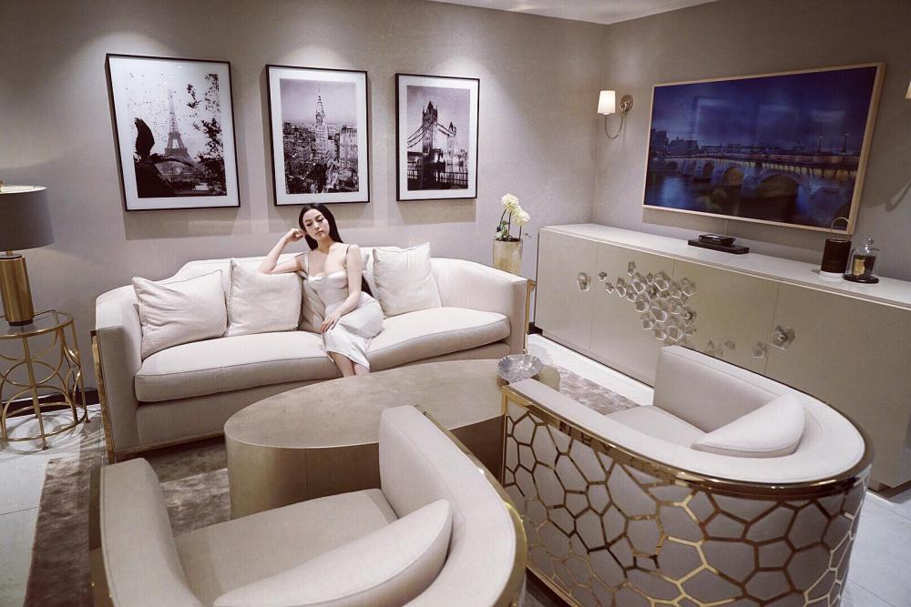 Nhà 5 triệu USD sang như khách sạn của hot girl Huyền Baby - 1