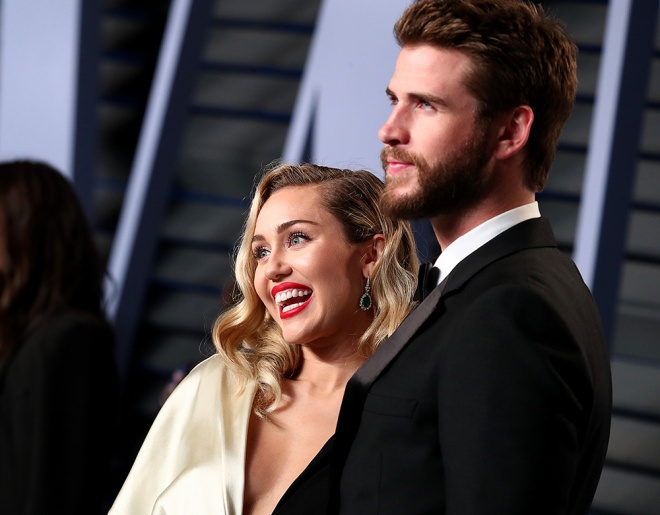 ca sĩ, miley cyrus, liam hemsworth, sao hollywood,đám cưới miley cyrus