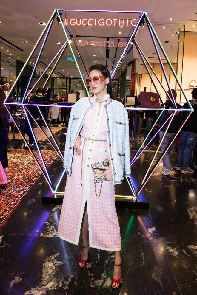 Mọi đôi bạn thân cũ đều hội tụ tại sự kiện Gucci: Kỳ Duyên đụng độ Jolie Nguyễn, Chi Pu tái ngộ Gil Lê - Ảnh 3.