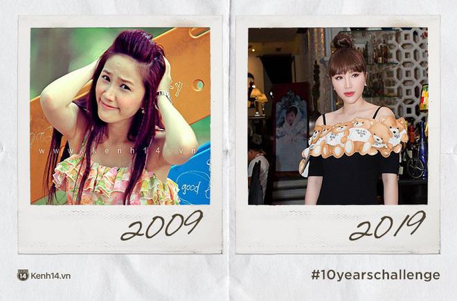 Chơi #10yearschallenge với mỹ nữ Việt: Năm này không giống năm xưa, ai rồi cũng khác đúng không cả nhà? - Ảnh 7.