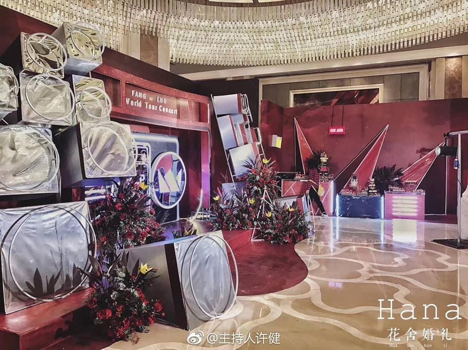 Nhìn vào thì ai cũng biết đây là đám cưới của fan Kpop chính hiệu.