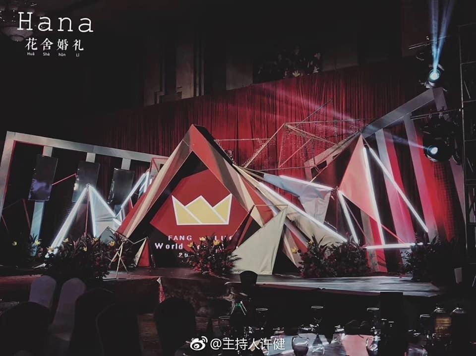 Đám cưới với hội trường tràn ngập sắc màu của thần tượng là ước mơ của mỗi fangirl.