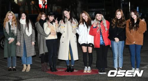 Momoland cũng có mặt tại Music Bank ngày hôm nay.