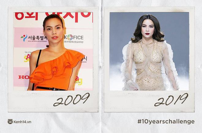 Chơi #10yearschallenge với mỹ nữ Việt: Năm này không giống năm xưa, ai rồi cũng khác đúng không cả nhà? - Ảnh 1.