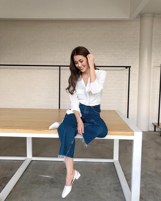 Đây là 4 mẫu jeans đang được các sao nữ Việt lăng xê nhiệt tình, các nàng rất nên cập nhật ngay cho tủ đồ - Ảnh 1.