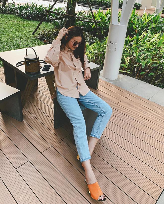 Đây là 4 mẫu jeans đang được các sao nữ Việt lăng xê nhiệt tình, các nàng rất nên cập nhật ngay cho tủ đồ - Ảnh 3.