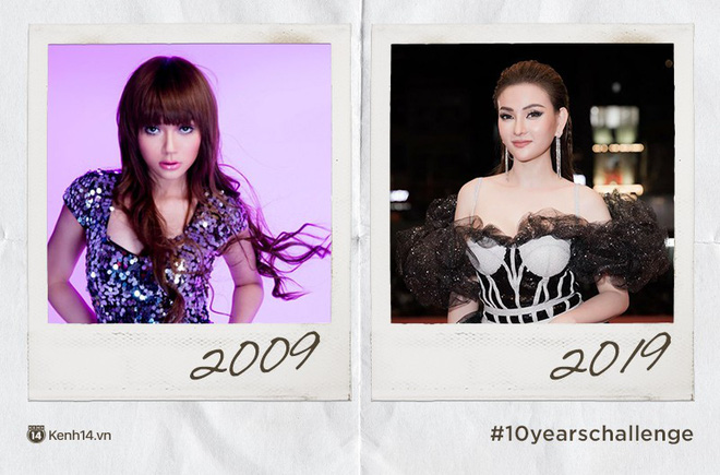 Chơi #10yearschallenge với mỹ nữ Việt: Năm này không giống năm xưa, ai rồi cũng khác đúng không cả nhà? - Ảnh 5.