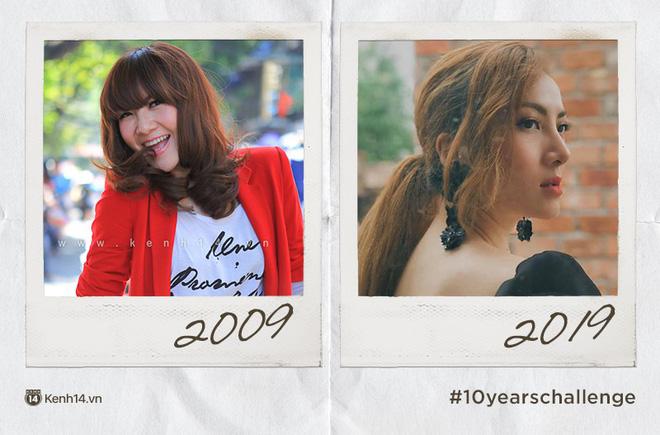 Chơi #10yearschallenge với mỹ nữ Việt: Năm này không giống năm xưa, ai rồi cũng khác đúng không cả nhà? - Ảnh 9.