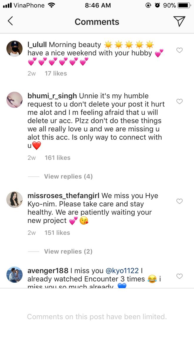 Song Hye Kyo bất ngờ khóa bình luận trên Instagram, chuyện gì đang xảy ra? - Ảnh 3.