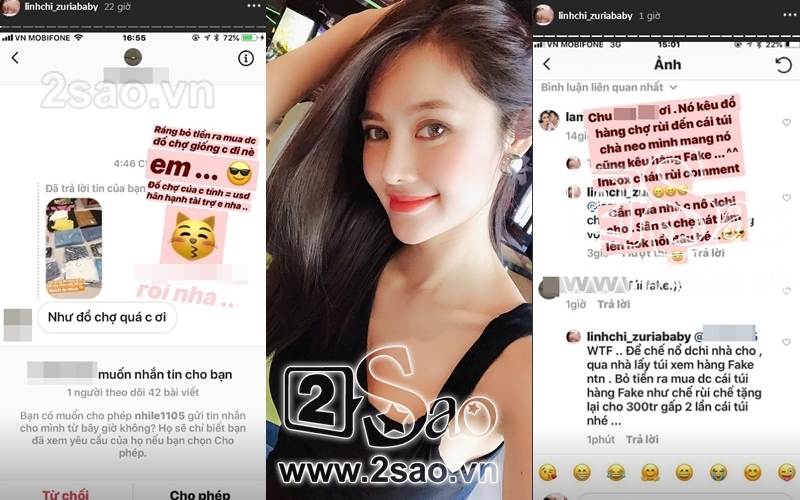 Mua hàng hiệu nhưng bị mỉa mai là fake, Linh Chi trả treo: Đồ chợ của chị tính bằng USD đó-4