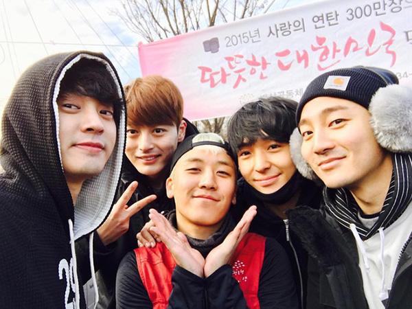 Hội bạn thân của Seungri và Jung Joon Young cũng có mặt Roy Kim.