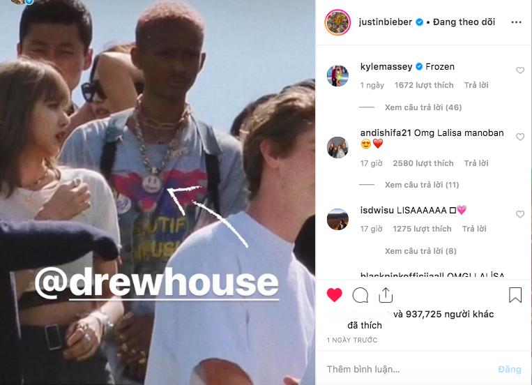 Justin Bieber chính thức follow Lisa (BLACKPINK) trên Instagram, tất cả là nhờ tình huống dở khóc dở cười này - Ảnh 1.
