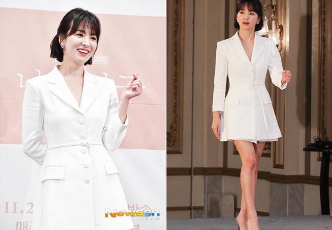 Song Hye Kyo khoe nhan sac o tuoi U40 giua vu ly hon on ao hinh anh 6
