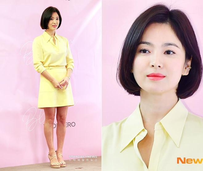 Song Hye Kyo khoe nhan sac o tuoi U40 giua vu ly hon on ao hinh anh 5
