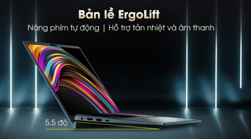 Laptop Asus ZenBook Duo UX481F tự động nâng phím