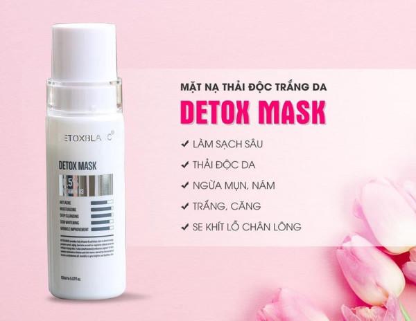 Cách sử dụng mặt nạ thải độc Detox Mask chuẩn chuyên gia