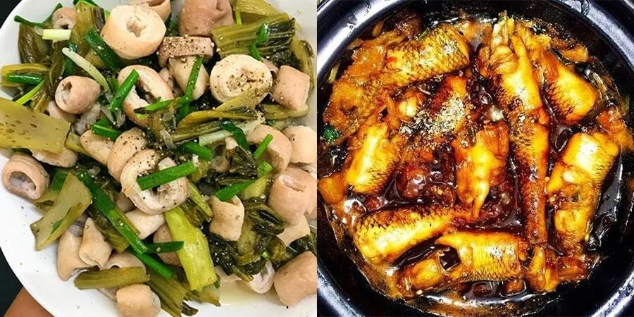 50 công thức món ăn mặn hàng ngày ngon cơm dễ làm ~ Ẩm Thực Thông Thái