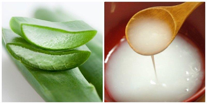 Cách dưỡng trắng da mặt từ nha đam và nước vo gạo