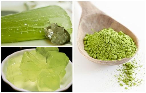 Các công thức mặt nạ dưỡng da bí truyền từ bột trà xanh Nhật Bản - Tâm sự  Dao Kéo
